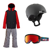 Burton TWC Greenlight Jacket & Burton Exile Pants Boys Outfit, , medium