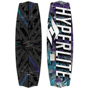 Hyperlite Tribute Wakeboard, Black, medium