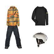 686 Trail Jacket & 686 All Terrain Pants Boys Outfit, , medium