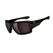 Oakley Big Taco Sunglasses, Polished Black, medium