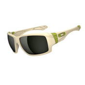 Oakley Big Taco Sunglasses, Matte Bone, medium
