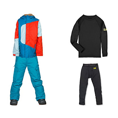 686 Blaze Jacket & 686 All Terrain Pant Boys Outfit, , large