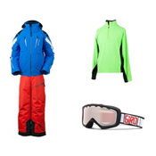 Obermeyer Mach 7 Jacket & Obermeyer Pro Pant Boys Outfit, , medium
