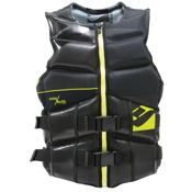 Hyperlite Team Neo Adult Life Vest, Lime, medium