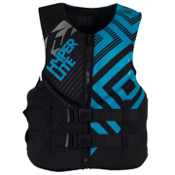 Hyperlite Indy Adult Life Jacket 2013, Black-Blue, medium