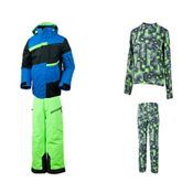 Obermeyer Rebel Jacket & Obermeyer Pro Pant Boys Outfit, , medium