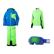 Obermeyer Ridge Jacket & Obermeyer Pro Pant Boys Outfit, , medium