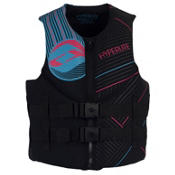 Hyperlite Indy Neo Womens Life Jacket 2013, Pink-Blue, medium