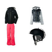 Obermeyer Reina Jacket & Obermeyer Jolie Softshell Pant Girls Outfit, , medium