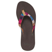 Reef Guatemalan Love Womens Flip Flops, Multi, medium