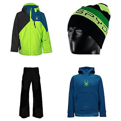 Spyder Ambush Jacket & Spyder Action Pants Kids Outfit, , large