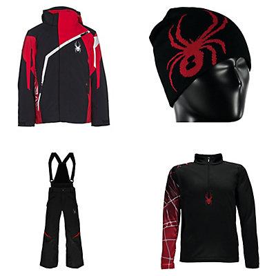 Spyder Challenger Jacket & Spyder Force Pants Kids Outfit, , large