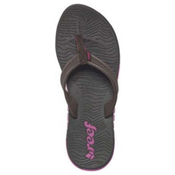 Reef Shore Drift Womens Flip Flops, Brwon-Purple, medium