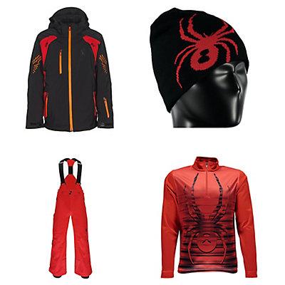 Spyder Vail Jacket & Spyder Bormio Pants Kids Outfit, , large