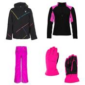 Spyder Tresh Jacket & Spyder Vixen Pants Kids Outfit, , medium