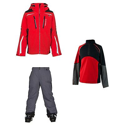 Obermeyer Ryker Jacket & Obermeyer Brisk Pants Teen Boys Outfit, , large