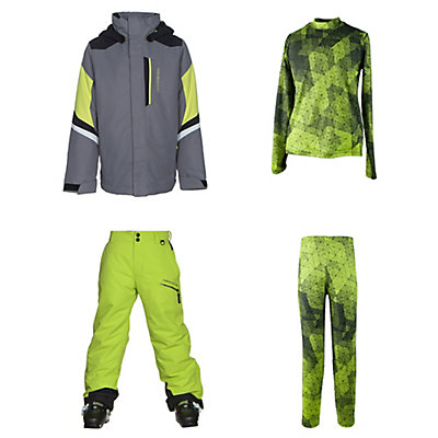 Obermeyer Fleet Jacket & Obermeyer Brisk Pants Kids Outfit, , large