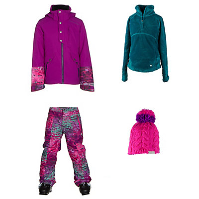 Obermeyer Kenzie Jacket & Obermeyer Elise Pants Teen Girls Outfit, , large
