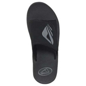 Reef Adjustable BYOB Mens Sandals, Black-Grey, medium