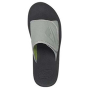 Reef Adjustable BYOB Mens Sandals, Black-Lime Green, medium