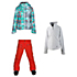 Obermeyer Tabor Print Jacket & Obermeyer Jessi Pants Teen Girls Outfit