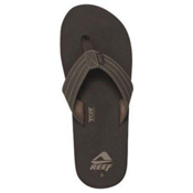 Reef Quencha TQT Mens Flip Flops, Brown, medium