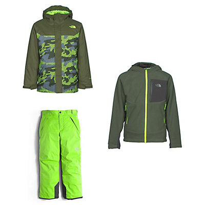 The North Face Brayden Jacket & The North Face Freedom Pants Kids Outfit, , large