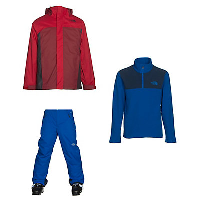 The North Face Boundary Triclimate Jacket & The North Face Freedom Pants Kids Outfit, , large