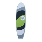 Boardworks Surf Joy Ride 9ft 11in Recreational Stand Up Paddleboard, Lime-Dark Grey-Light Grey, medium