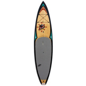 Boardworks Surf Raven 12ft 6in Touring Stand Up Paddleboard 2016, Wood-Black-White, medium