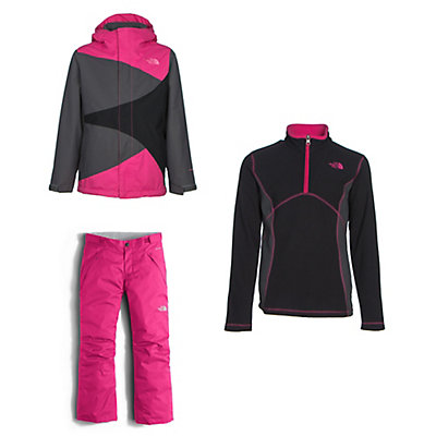 The North Face Mountain View Triclimate Jacket & The North Face Freedom Pants Kids Outfit, , large