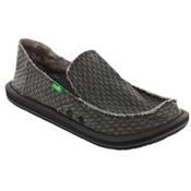 Sanuk Vagabond Yogi Mens Shoes, Charcoal, medium