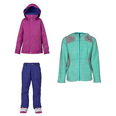 Burton Elodie Jacket & Burton Sweetart Pants Kids Outfit, , large