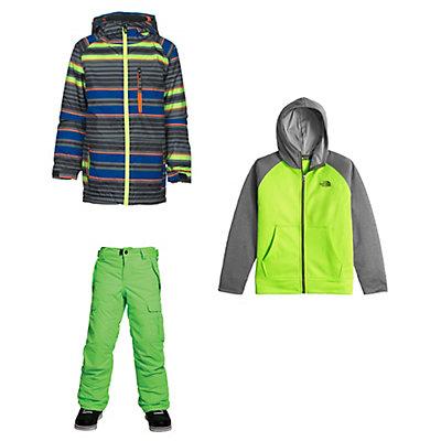 686 Jinx Jacket & 686 All Terrain Pants Kids Outfit, , large