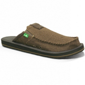 Sanuk You Got My Back II Mens Shoes, Chocolate, medium
