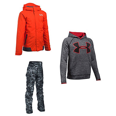 Under Armour Infrared Jacket & Under Armour Cutes Pants Kids Outfit, , large