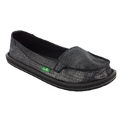 Sanuk Ohm My Womens Shoes, Black, medium