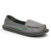 Sanuk Ohm My Womens Shoes, Silver, medium