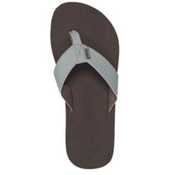 Reef Surform Mens Flip Flops, Brown-Grey, medium