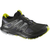 Salomon XR Mission Mens Shoes, Black-Light Onix-Organic Green, medium