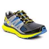 Salomon XR Mission Mens Shoes, Grey Denim-Canary Yellow-Union, medium