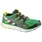 Salomon XR Mission Mens Shoes, Clover Green-Black-Light Green, medium
