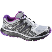 Salomon XR Mission Womens Shoes, Light Onix-Black-Anemone Purpl, medium