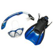US Divers Admiral LX/Island Dry LX Snorkel Set 2013, , medium