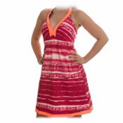 The North Face Echo Lake Dress, Fuschia Pink Shibori Print, medium