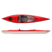 Hurricane Santee 126 Sport Recreational Kayak 2015, Red, medium