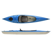 Hurricane Santee 126 Sport Recreational Kayak 2014, Blue, medium
