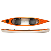 Hurricane Santee 140 T Tandem Kayak 2016, Mango, medium