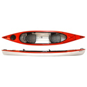 Hurricane Santee 140 T Tandem Kayak 2014, Red, medium