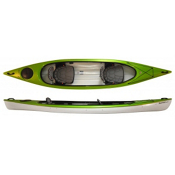 Hurricane Santee 140 T Tandem Kayak 2014, Lime, medium
